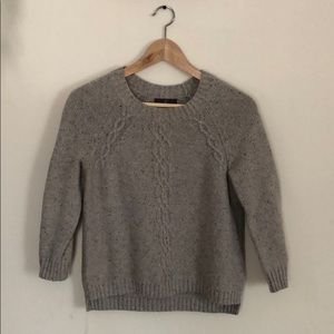 Fenn Wright Manson 3/4 sleeve cable knit sweater